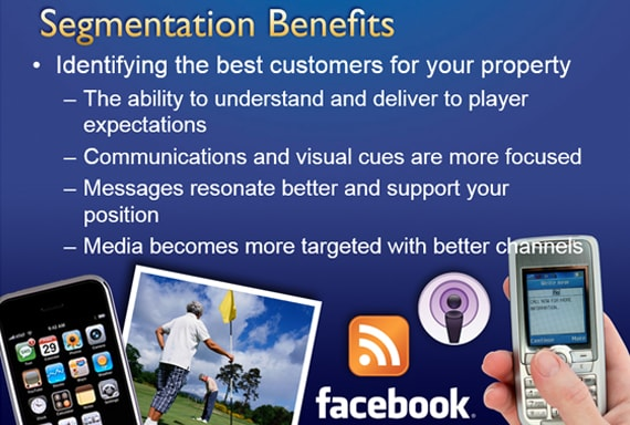 Marketing Results OIGA 2011 Segmentation Benefits