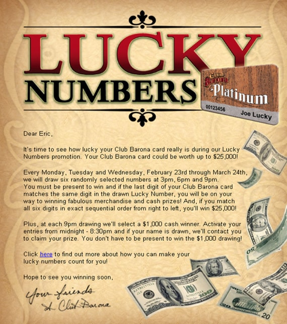 Marketing-Results_NIGA_2006_Lucky_Numbers_Players_Card