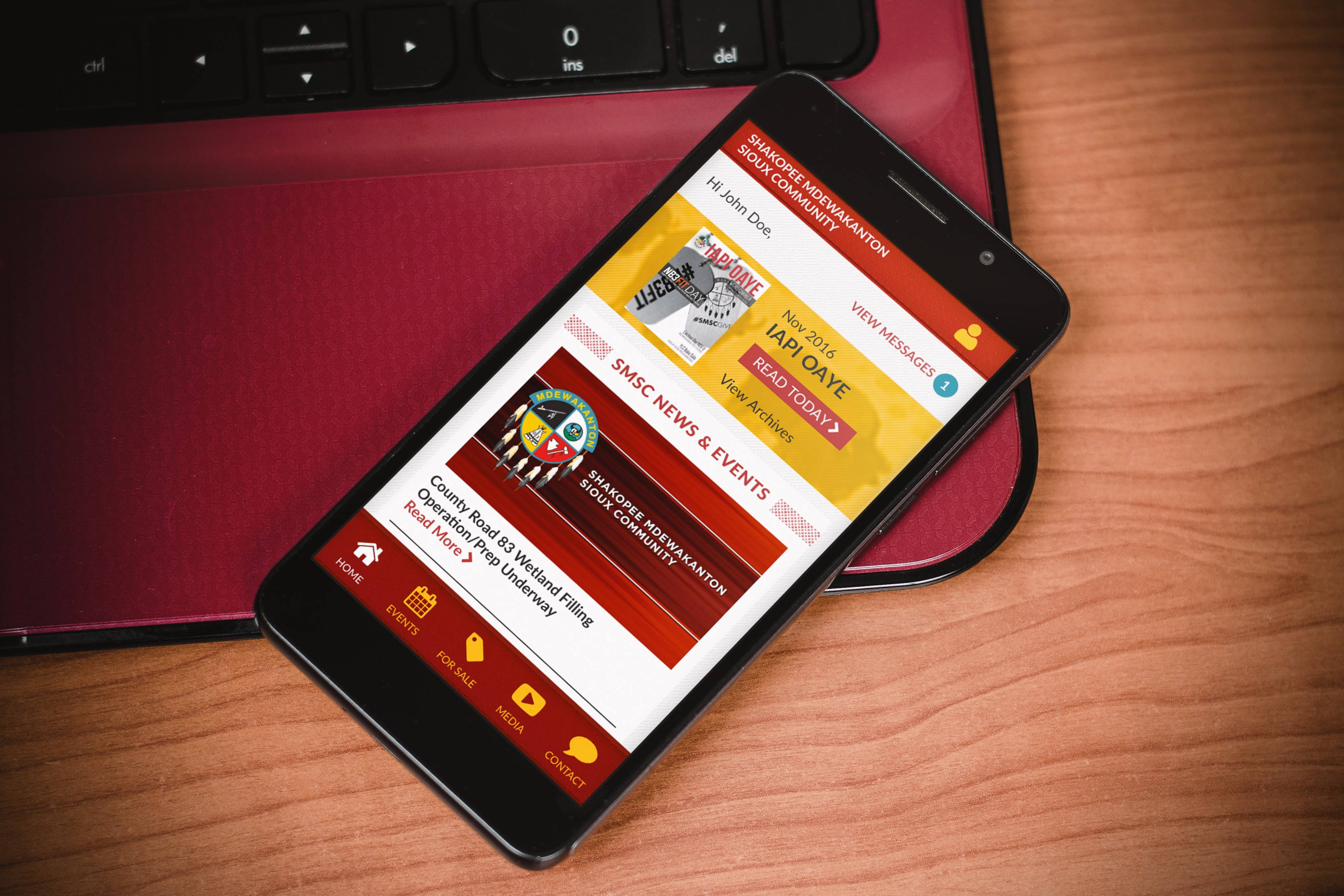 SMSC Partners with MRI to Launch Mobile App